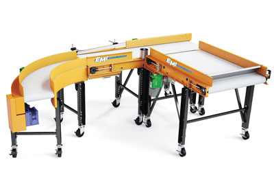 Conveyor Belt Turn Applications