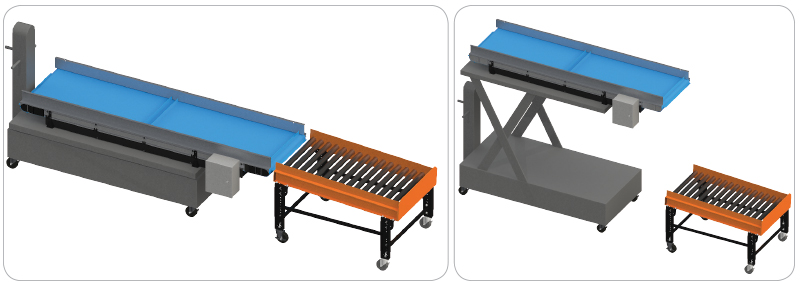 Mechanical lift Conveyor