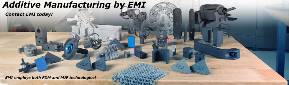 3d printing and addititive manufacturing by EMI