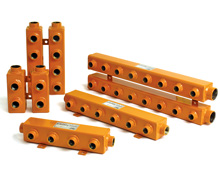 Powder Coated Steel Manifolds