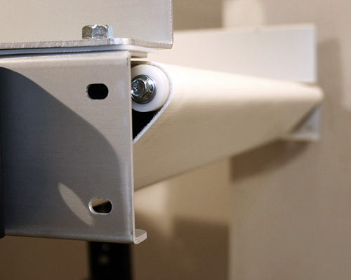 Nose bar Option for Conveyor Systems